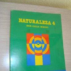 Libros de segunda mano: NATURALEZA 4º EGB CICLO MEDIO - EDITORIAL SANTILLANA AÑO 1988. Lote 31196721