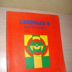 Libros de segunda mano: LENGUAJE 4º EGB CICLO MEDIO EDITORIAL SANTILLANA AÑO 1988. Lote 31198649