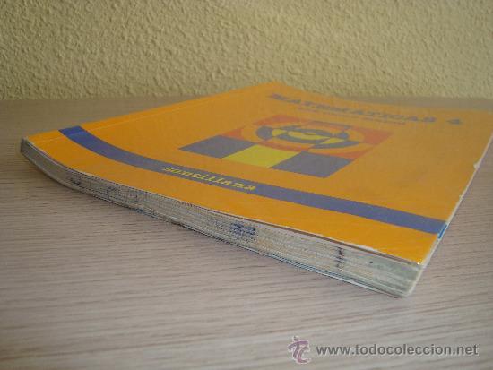 Libros de segunda mano: MATEMÁTICAS 4 EGB CICLO MEDIO SANTILLANA AÑO 1988 - Foto 5 - 31303886