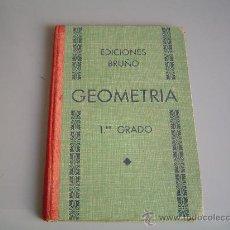 Libros de segunda mano - Libro de texto Geometria 1er. grado. Ediciones Bruño. - 31322171