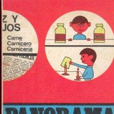 Libros de segunda mano: PANORAMA, CUADERNO DE TRABAJO CUARTO CURSO 1- SANTILLANA 1969. Lote 31567910
