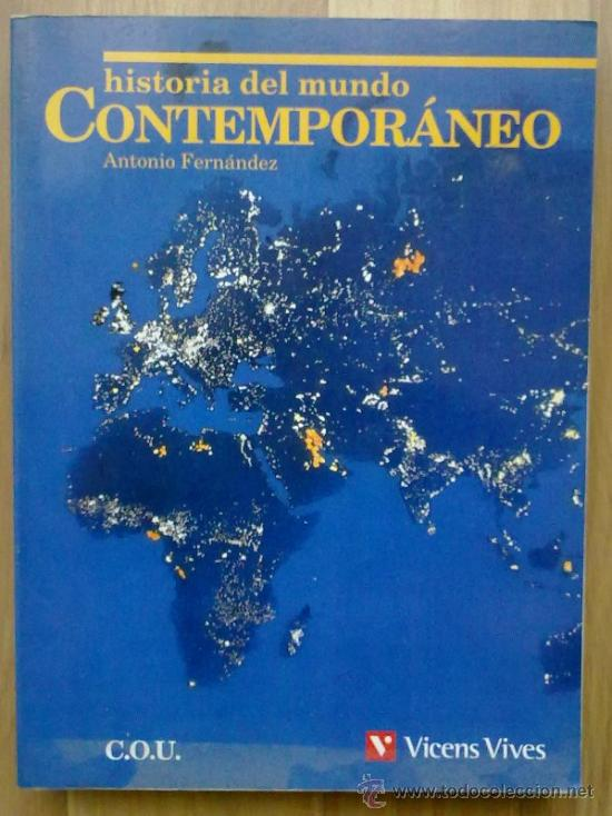 Historia del mundo contemporáneo (a. fernández) - Vendido