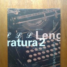 Libros de segunda mano: LENGUA Y LITERATURA , 2º 2 BACHILLERATO , EDITEX , 2003. Lote 39313815