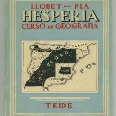 Libros de segunda mano: HESPERIA CURSO DE GEOGRAFIA.. Lote 31957512