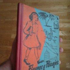 Libros de segunda mano: FIGURAS Y PAISAJES (SEGUNDO LIBRO DE LECTURA) / JOSÉ MARÍA VILLERGAS. Lote 32041068