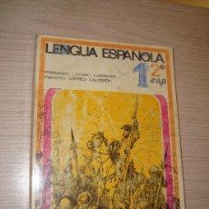 Libros de segunda mano: LENGUA ESPAÑOLA 2º ANAYA AÑO 1969 FERNANDO LÁZARO CARRETER. Lote 32181769