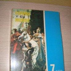 Libros de segunda mano: ESPAÑA Y EL MUNDO 7º EGB EDELVIVES 1974 CARLOS CAMPOY GARCÍA Y Mª CARMEN GUTIERREZ RUÍZ. Lote 32203759