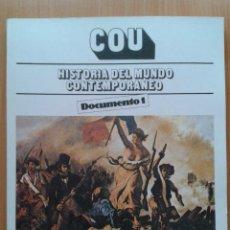 Second hand books - HISTORIA DEL MUNDO CONTEMPORANEO , COU , INBAD , 1989 - 32225974