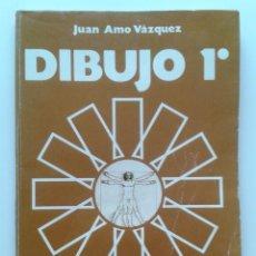 Libros de segunda mano: DIBUJO 1º - JUAN AMO VAZQUEZ - EDICIONES ANAYA - 1975. Lote 32282921