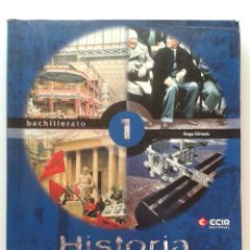 Second hand books - HISTORIA DEL MUNDO CONTEMPORANEO 1 - 1º BACHILLERATO - GRUPO EDETANIA - EDITORIAL ECIR - 32298041