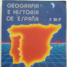 Second hand books - GEOGRAFIA E HISTORIA DE ESPAÑA - 3º BUP - GRUPO EDETANIA - EDITORIAL ECIR - 1995 - 32359904