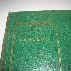 Libros de segunda mano: LIBRO CORTE SISTEMA MARTÍ,LENCERIA . Lote 32606169
