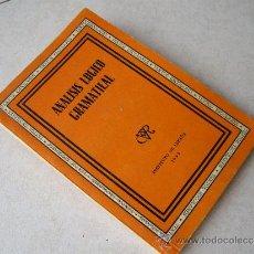 Libros de segunda mano: ANALISIS LOGICO GRAMATICAL - ALDES S. A . 1939 ( EXCELENTE ESTADO CONSERVACION ). Lote 32809957