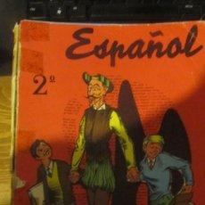 Libros de segunda mano: M69 ANTIGUO LIBRO DE TEXTO ESPAÑOL 2º DE SM AÑO 1964. Lote 33004176