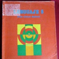 Libros de segunda mano: LENGUAJE 5 EGB CICLO MEDIO .SANTILLANA 1988. Lote 176754854