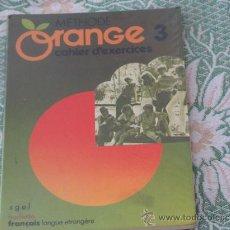 Libros de segunda mano: LIBRO DE TEXTO ORANGE FRANCÉS. Lote 33141089