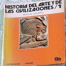 Libros de segunda mano: LIBRO DE TEXTO HISTORIA 1º BUP. Lote 33141136