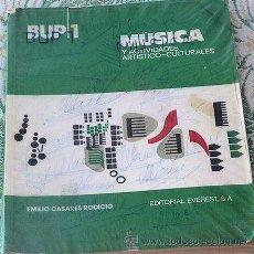 Libros de segunda mano: LIBRO DE TEXTO 1º BUP. Lote 33141151