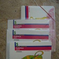 Libros de segunda mano: PLASTICA 5 - DEJA HUELLA - ( 5º DE PRIMARIA ) ANAYA - SIN USAR -. Lote 33264830