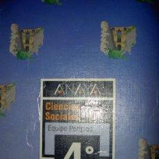 Gebrauchte Bücher - ANAYA CIENCIAS SOCIALES 4 EGB PERIPLOS - 49350165