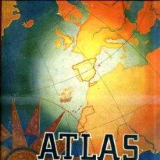 Libros de segunda mano: ATLAS UNIVERSAL Y DE ESPAÑA EDELVIVES 1950. Lote 33302007