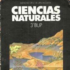 Libros de segunda mano: CIENCIAS NATURALES 3º BUP - AKAL 1989. Lote 33367687