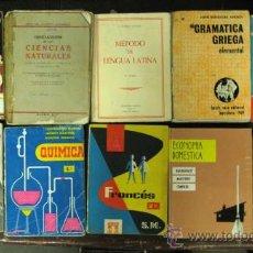 Libros de segunda mano: LIBROS DE COLEGIO AÑOS 50-60. Lote 33704198