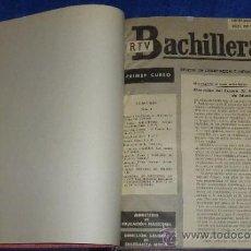 Libros de segunda mano: BACHILLERATO RTV - MINISTERIO DE EDUCACIÓN NACIONAL - 1964. Lote 34015505