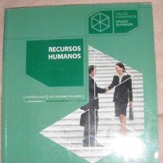 Libros de segunda mano: RECURSOS HUMANOS - MC GRAW HILL - CICLO FORMATIVO GRADO SUPERIOR. Lote 34069073