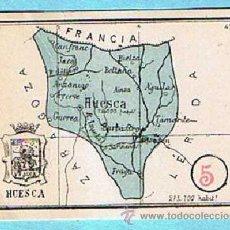 Libros de segunda mano: VALE DE PREMIO ESCOLAR 5 PUNTOS. CON MAPA DE LA PROVINCIA DE HUESCA, SIN FECHA.. Lote 34231249