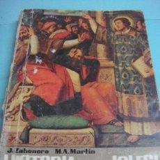 Libros de segunda mano: HISTORIA DE LA IGLESIA. J. ZAHONERO Y M.A. MARTIN. MARFIL. 1968. SEXTA EDICIÓN. ALCOY. TERCER CURSO. Lote 34276216