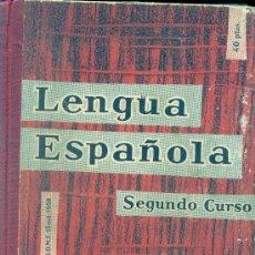 Libros de segunda mano: LENGUA ESPAÑOLA. 2º CURSO. EDELVIVES. 1958. Lote 254333210
