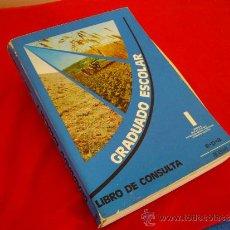 Libros de segunda mano: GRADUADO ESCOLAR I ( LIBRO DE CONSULTA ) - ANAYA 1975 -. Lote 34411160