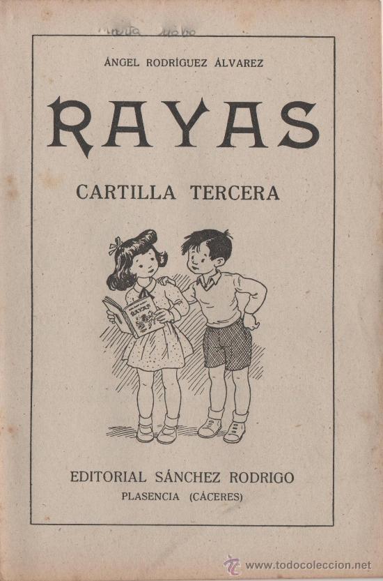 Libros de segunda mano: RAYAS - CARTILLA TERCERA - VER FOTOS. - AÑO 1958 - Foto 8 - 25666170