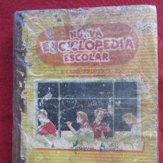 Libros de segunda mano: NUEVA ENCICLOPEDIA ESCOLAR , GRADO PRIMERO 1958 , SANTIAGO RODRIGUEZ BURGOS. Lote 152395409