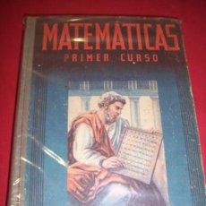 Libros de segunda mano: EDELVIVES. MATEMÁTICAS. PRIMER CURSO. Lote 34612005