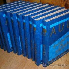 Libros de segunda mano: AULA: ENCICLOPEDIA DEL ESTUDIANTE 10T COMPLETO DE ED. PLANETA DEAGOSTINI, BARCELONA 1988 10ª EDICIÓN. Lote 34618616