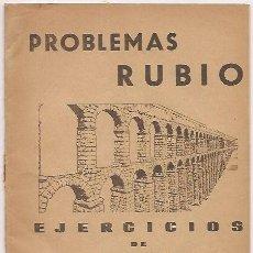 Libros de segunda mano: PROBLEMAS RUBIO. Lote 34650677
