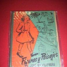Libros de segunda mano: VILLERGAS, JOSÉ Mª. - FIGURAS Y PAISAJES : SEGUNDO LIBRO DE LECTURA. Lote 34743064