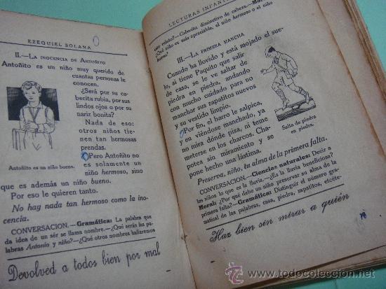 Libros de segunda mano: LIBRO. LECTURAS INFANTILES. EZEQUIEL SOLANA. 1956. EDITORIAL ESCUELA ESPAÑOLA - Foto 3 - 35388631