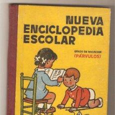 Libros de segunda mano: NUEVA ENCICLOPEDIA ESCOLAR. GRADO DE INICIACIÓN (PÁRVULOS). - HIJOS DE SANTIAGO RODRÍGUEZ . Lote 35753315