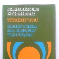 Libros de segunda mano: KERNEL LESSONS INTERMEDIATE - STUDENT´S BOOK - LONGMAN GROUP - INGLES - 1976. Lote 35764044