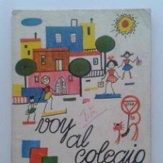Libros de segunda mano: VOY AL COLEGIO - LA CLASE DE PARVULOS - IRENE GUTIERREZ - EDITORIAL ESCUELA ESPAÑOLA - 1969. Lote 35764265