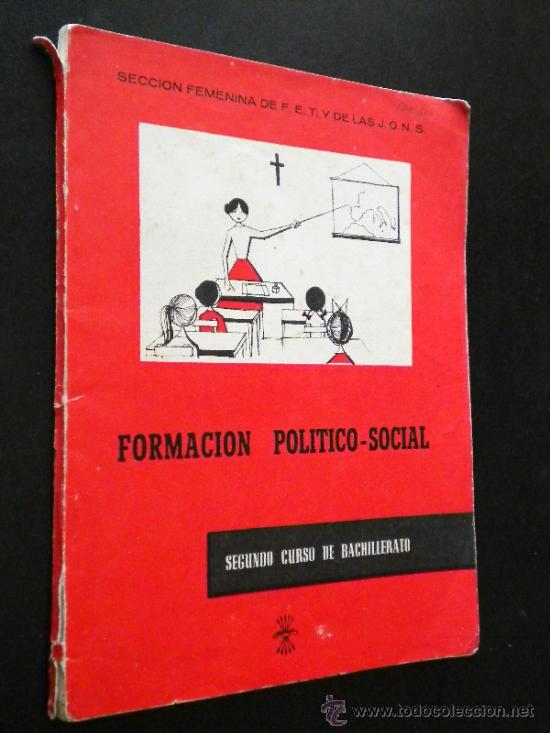 FORMACION POLITICO-SOCIAL. SEGUNDO CURSO / VV. AA. (Libros de Segunda Mano - Libros de Texto )