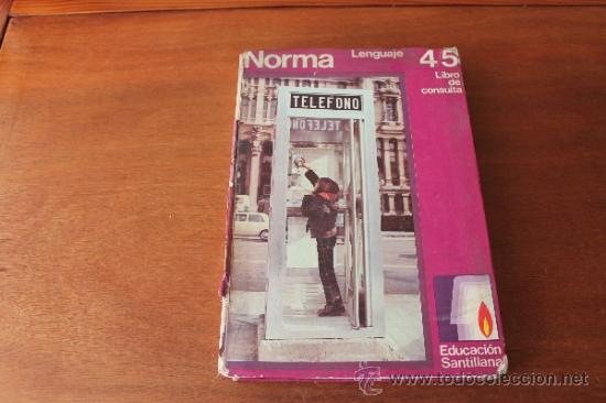 Libros de segunda mano: CONSULTOR 4/5 - LENGUAJE - LIBRO DE TEXTO, CONSULTA - EGB - SANTILLANA 1971 - Foto 8 - 35834431