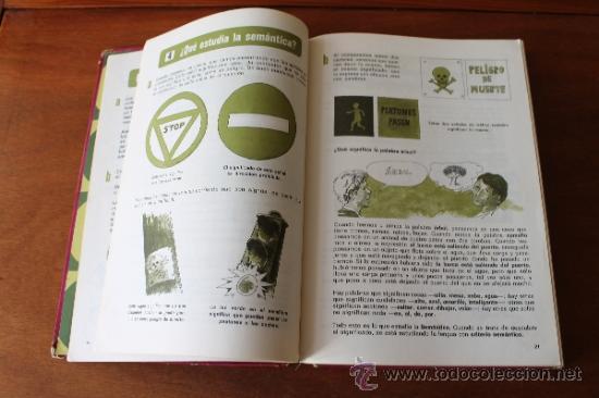Libros de segunda mano: CONSULTOR 4/5 - LENGUAJE - LIBRO DE TEXTO, CONSULTA - EGB - SANTILLANA 1971 - Foto 7 - 35834431