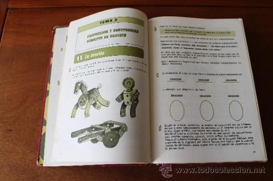 Libros de segunda mano: CONSULTOR 4/5 - LENGUAJE - LIBRO DE TEXTO, CONSULTA - EGB - SANTILLANA 1971 - Foto 6 - 35834431