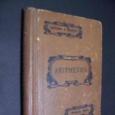 Libros de segunda mano: ARITMETICA - SALINAS Y BENITEZ - ED. HERNANDO / MADRID 1943. Lote 35982563