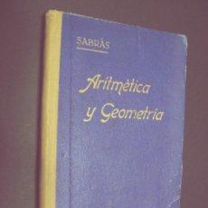 Libros de segunda mano: ARITMETICA - SALINAS Y BENITEZ - ED. HERNANDO / MADRID 1943. Lote 35982714