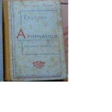 Libros de segunda mano: TRATADO DE ARITMETICA SEGUNDO GRADO AÑOS 50 -REF-M4E4. Lote 36448446